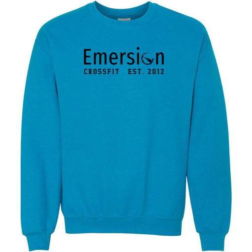 Emersion CrossFit - 100 - Black - Gildan - Heavy Blend Crewneck Sweatshirt