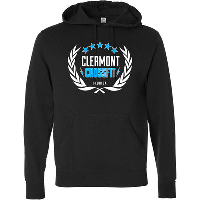 Clermont CrossFit - Standard - Independent - Hooded Pullover Sweatshirt