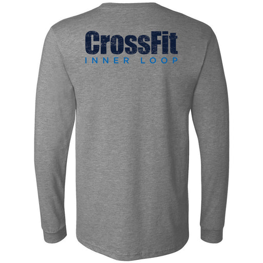 CrossFit Inner Loop - 202 - Round - Bella + Canvas 3501 - Men's Long Sleeve Jersey Tee