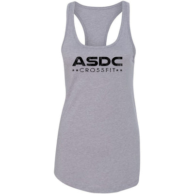 ASDC CrossFit - 100 - Stacked - Next Level - Women's Ideal Racerback Tank