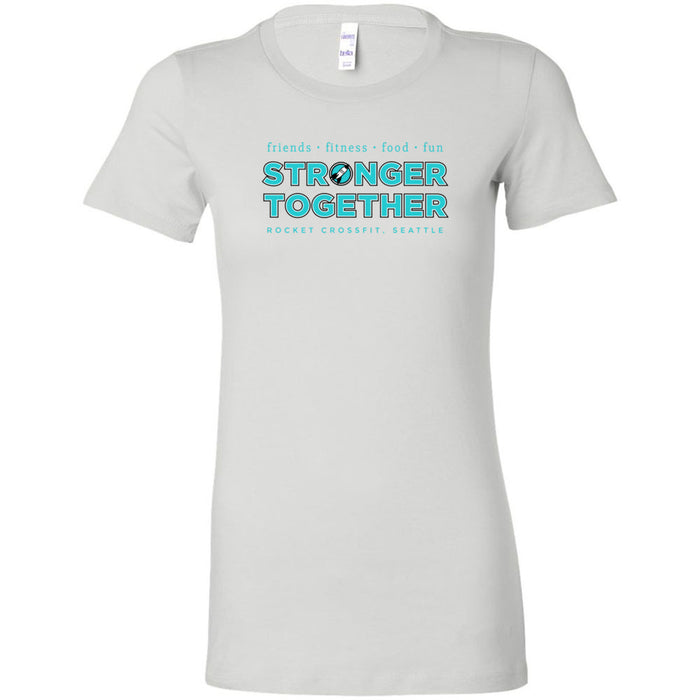 Rocket CrossFit - Stronger Together - Bella + Canvas - Women's The Favorite Tee