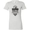 CrossFit Helix - 100 - Strong And Courageous - Bella + Canvas - Women's The Favorite Tee