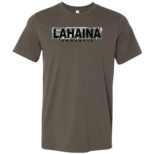 Lahaina CrossFit - 100 - Hawaii Army - Bella + Canvas - Men's Short Sleeve Jersey Tee
