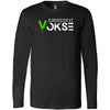 CrossFit Vokse - 100 - Standard - Bella + Canvas 3501 - Men's Long Sleeve Jersey Tee