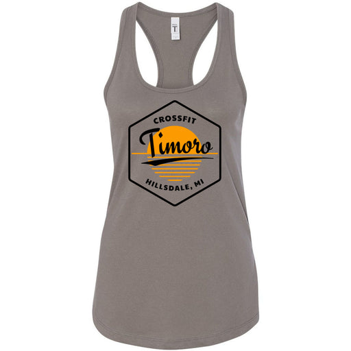 CrossFit Timoro - 100 - AA2 Paradise - Next Level - Women's Ideal Racerback Tank