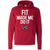 Clermont CrossFit - 200 - Fit Made Me Do It - Independent - Hooded Pullover Sweatshirt