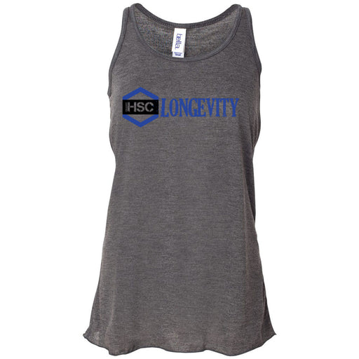 CrossFit HSC - 100 - Longevity - Bella + Canvas - Women's Flowy Racerback Tank