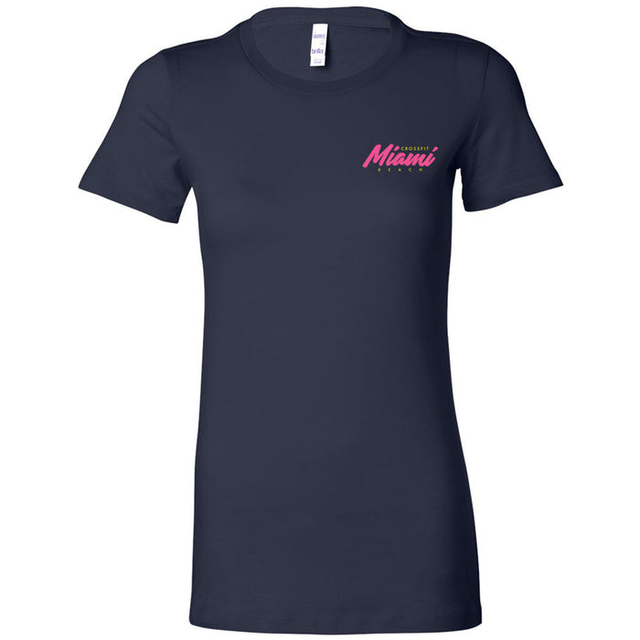 Reebok CrossFit Miami Beach - 200 - WZA - Bella + Canvas - Women's The Favorite Tee
