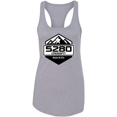 5280 CrossFit - 100 - Standard - Next Level - Women's Ideal Racerback Tank