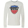 CrossFit No Slack - 100 - Standard - Bella + Canvas 3501 - Men's Long Sleeve Jersey Tee