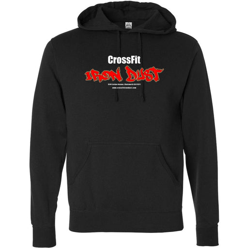 CrossFit Iron Dust - 100 - Standard - Independent - Hooded Pullover Sweatshirt