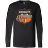 CrossFit Optimistic - 100 - Crest - Bella + Canvas 3501 - Men's Long Sleeve Jersey Tee