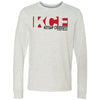 Kitsap CrossFit - 100 - Standard - Bella + Canvas 3501 - Men's Long Sleeve Jersey Tee