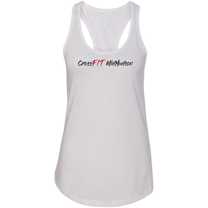 CrossFit Mid Hudson - Graffiti - Next Level - Women's Ideal Racerback Tank