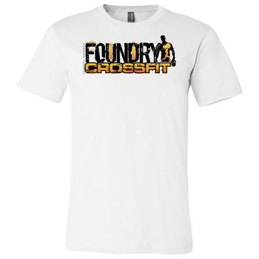 Foundry CrossFit - 100 - Standard - Bella + Canvas - Men's Short Sleeve Jersey Tee