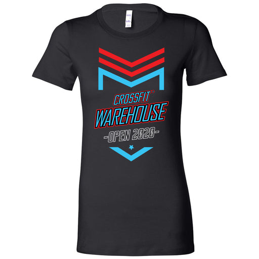 CrossFit Warehouse - 100 - 2020 Open - Bella + Canvas - Women's The Favorite Tee