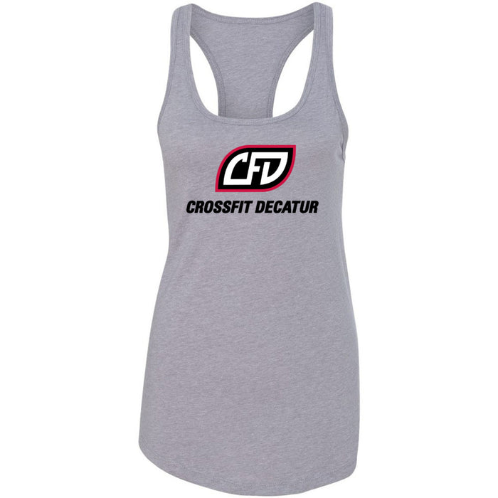 CrossFit Decatur - 100 - Standard - Next Level - Women's Ideal Racerback Tank
