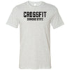 CrossFit Diamond State - 100 - Standard - Bella + Canvas - Men's Short Sleeve Jersey Tee