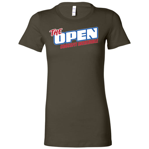 CrossFit Incredible - 100 - The Open - Bella + Canvas - Women's The Favorite Tee