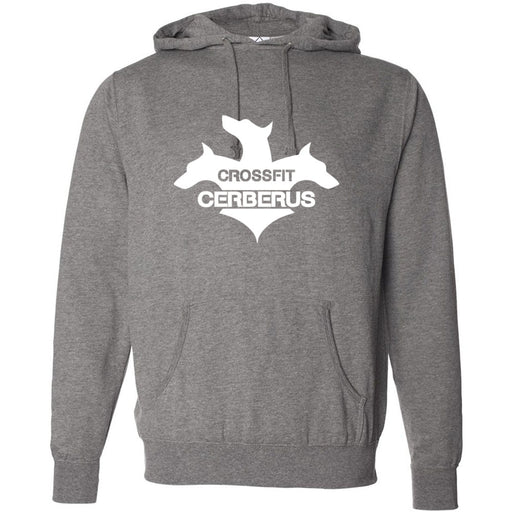 CrossFit Cerberus - 100 - White - Independent - Hooded Pullover Sweatshirt