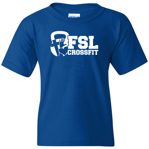 FSL CrossFit - 100 - White - Gildan - Heavy Cotton Youth T-Shirt