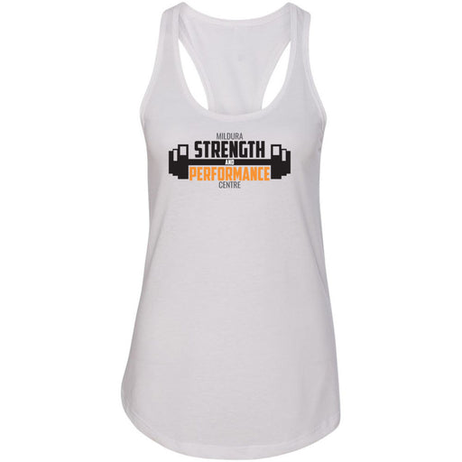 CrossFit Mildura - 100 - Strength & Performance - Next Level - Women's Ideal Racerback Tank