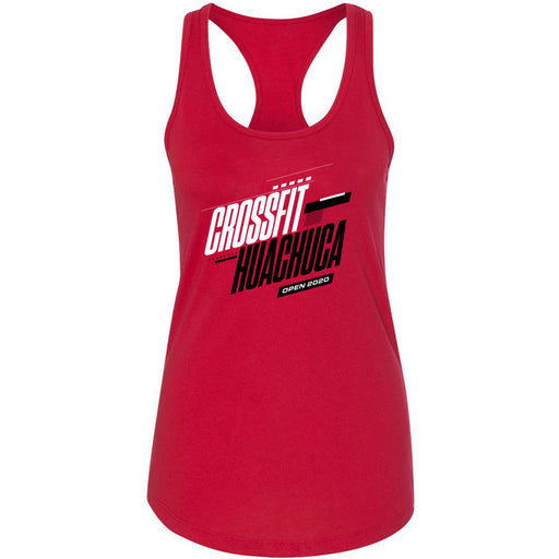 CrossFit Huachuca - 100 - 2020 Open Red - Next Level - Women's Ideal Racerback Tank