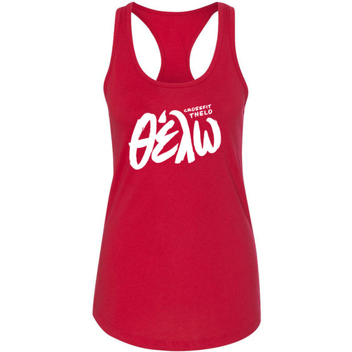 CrossFit Thelo - 100 - Thelo - Next Level - Women's Ideal Racerback Tank