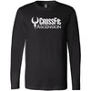 CrossFit Ascension - 100 - Standard - Bella + Canvas 3501 - Men's Long Sleeve Jersey Tee