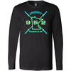 CrossFit 952 - 100 - MN Gradient - Bella + Canvas 3501 - Men's Long Sleeve Jersey Tee