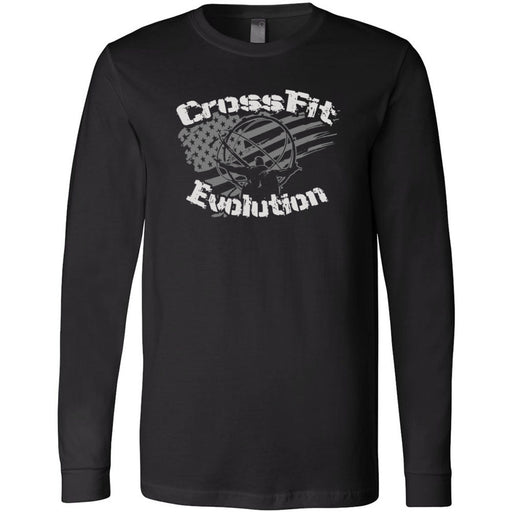 CrossFit Evolution - 202 - Atlas - Bella + Canvas 3501 - Men's Long Sleeve Jersey Tee