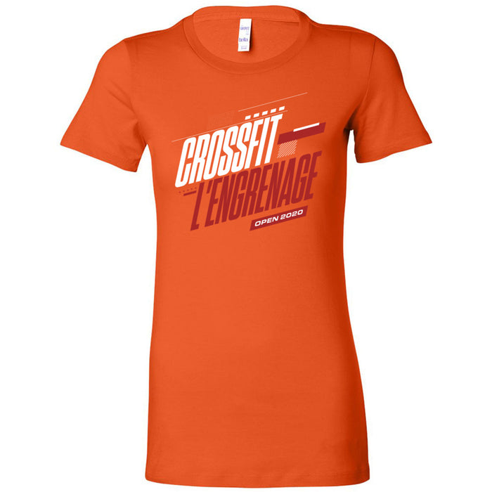 CrossFit L'Engrenage - 100 - 2020 Open - Bella + Canvas - Women's The Favorite Tee
