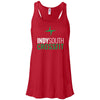 Indy South CrossFit - 100 - Stacked White - Bella + Canvas - Women's Flowy Racerback Tank