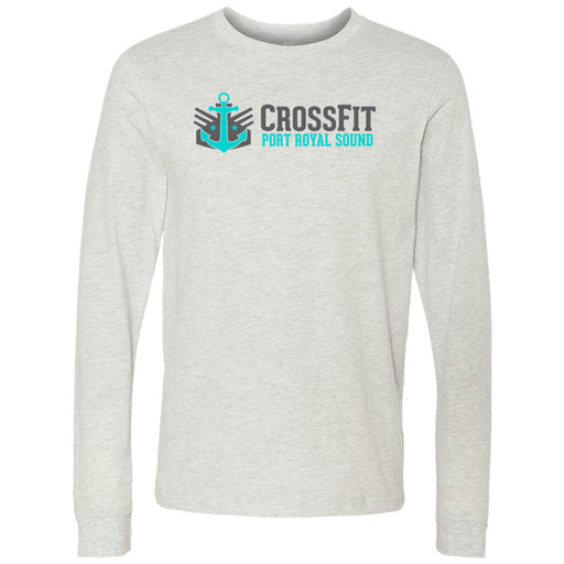 CrossFit Port Royal Sound - 100 - Standard - Bella + Canvas 3501 - Men's Long Sleeve Jersey Tee