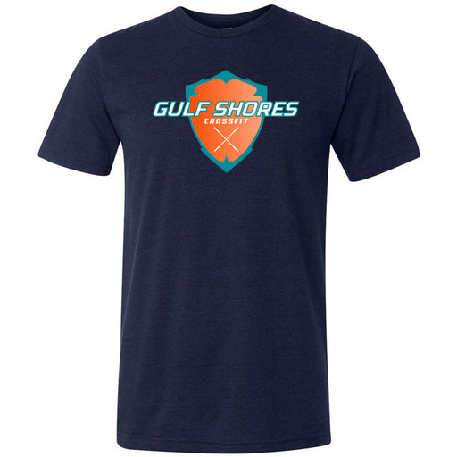 Gulf Shores CrossFit - 100 - Standard - Bella + Canvas - Men's Triblend Short Sleeve Tee
