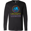 CrossFit Lumos - 100 - Neon - Bella + Canvas 3501 - Men's Long Sleeve Jersey Tee