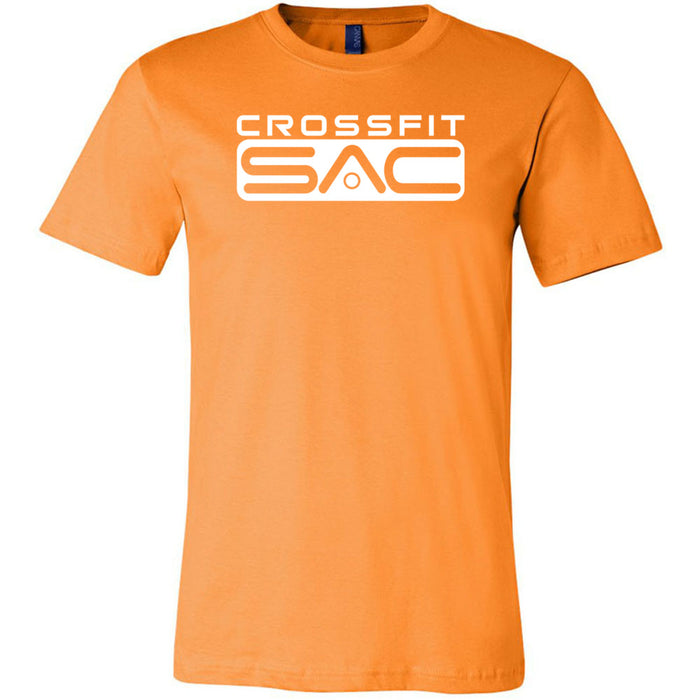 CrossFit SAC - 100 - One Color - Bella + Canvas - Men's Short Sleeve Jersey Tee