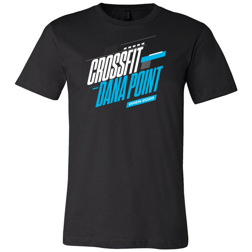 CrossFit Dana Point - 100 - 2020 Open 20.1 - Bella + Canvas - Men's Short Sleeve Jersey Tee