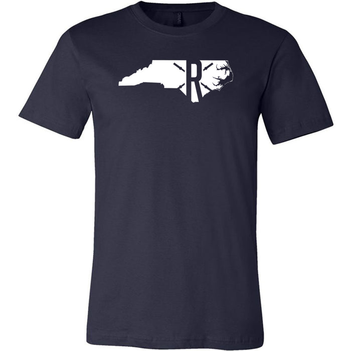 CrossFit Rolesville - 200 - State - Bella + Canvas - Men's Short Sleeve Jersey Tee