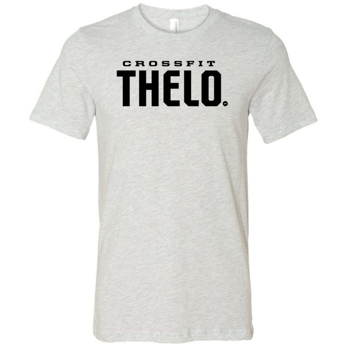 CrossFit Thelo - 100 - Stacked - Bella + Canvas - Men's Short Sleeve Jersey Tee