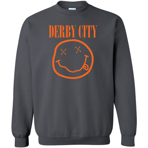 Derby City CrossFit - 201 - Nirvana Orange - Gildan - Heavy Blend Crewneck Sweatshirt