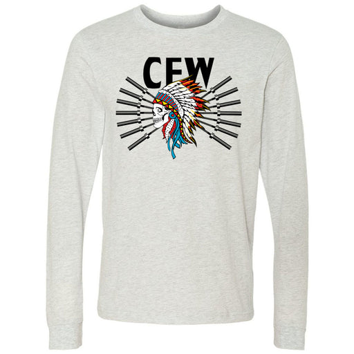 CrossFit Waukee - 202 - Tribe - Bella + Canvas 3501 - Men's Long Sleeve Jersey Tee