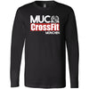 CrossFit MUC - 100 - Standard - Bella + Canvas 3501 - Men's Long Sleeve Jersey Tee