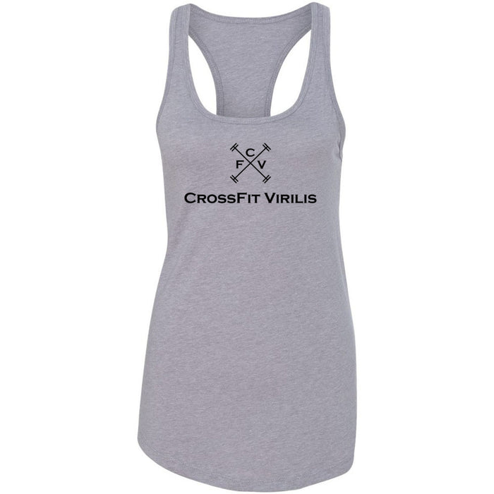 CrossFit Virilis - 100 - Stacked - Next Level - Women's Ideal Racerback Tank