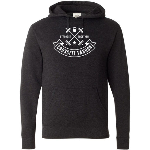 CrossFit Vashon - 100 - One Color - Independent - Hooded Pullover Sweatshirt