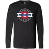 CrossFit Lodo - 100 - Denver - Bella + Canvas 3501 - Men's Long Sleeve Jersey Tee