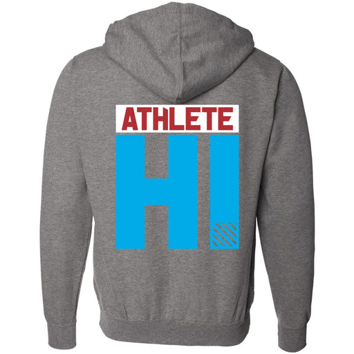 CrossFit Oahu - 201 - HI 3 Colors - Independent - Hooded Pullover Sweatshirt