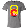 5280 CrossFit - 200 - Kettlebell - Bella + Canvas - Men's Short Sleeve Jersey Tee