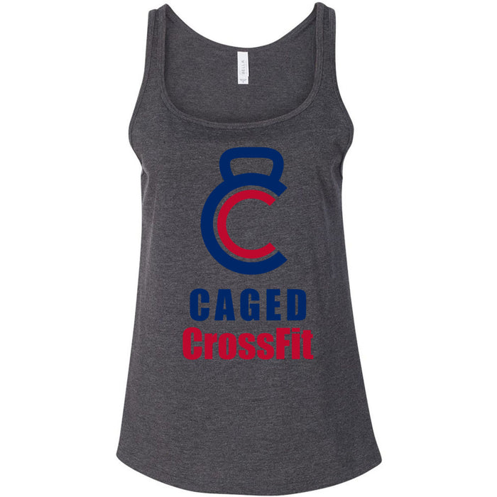 Caged CrossFit - 100 - Standard - Bella + Canvas - Women's Relaxed Jersey Tank