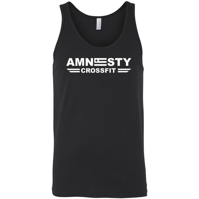Amnesty CrossFit - One Color - Bella + Canvas - Men's Jersey Tank